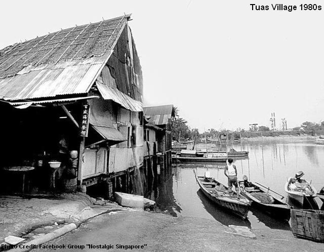 tuas village6 1980s