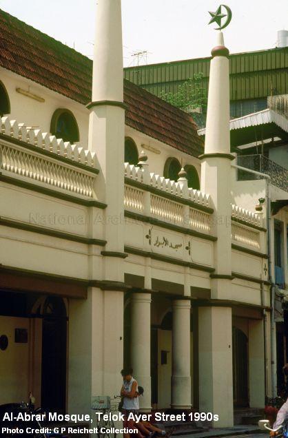 al-abrar-mosque-telok-ayer-street-1990s