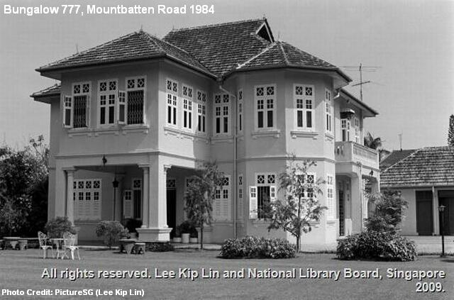 mountbatten road bungalow 777 1984