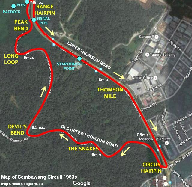 map-of-sembawang-circuit-old-upper-thomson-road