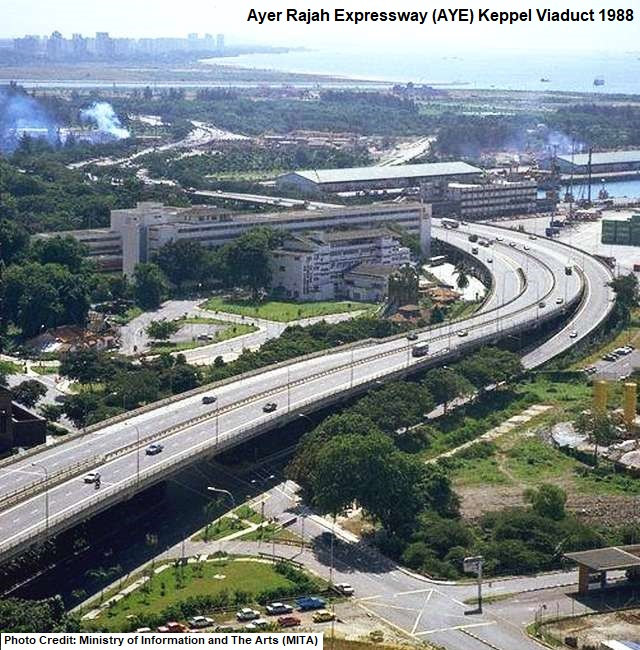 The Beginning Of Singapore S Expressways Remember